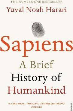 Book Cover: Sapiens : A Brief History of Humankind